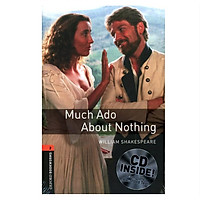 Oxford Bookworms Library Level 2: Much Ado About Nothing Playscript Audio Cd Pack