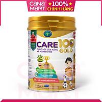 Sữa bột tốt cho bé Care 100 GOLD dành cho trẻ thấp còi, biếng ăn (900g)