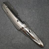 Ốp Pô Dành Cho Xe Exciter 150 (Inox 100%) MS1646 - Tặng Thêm 1 Pin AAA Maxell