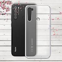 Ốp lưng cho Xiaomi Redmi Note 8 - 01247 - Ốp dẻo trong - Hàng Chính Hãng