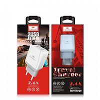 Củ Sạc Nhanh 2 Cổng USB Tiện Dụng EarlDom ES-195-Hàng chính hãng