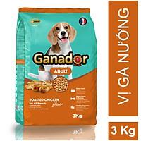 Thức ăn cho chó trưởng thành Ganador vị gà nướng Adult Roasted Chicken Flavor 3kg