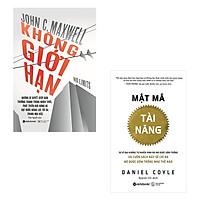 Bộ 2 cuốn sách về khám phá năng lực bản thân: Mật Mã Tài Năng - Không Giới Hạn