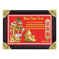 Tranh Đồng Mừng Thượng Thọ Cụ Ông (50 x 70cm)