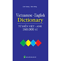 Từ Điển Việt - Anh 160.000 Từ