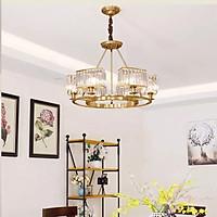 Đèn chùm bộ 6 bóng cao cấp thiết kế sang trọng trang trí quán cafe, nhà hàng, khách sạn CD-1167/6