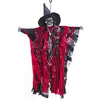 Bộ Xương Trang Trí Halloween Có Đèn Ở Mắt Và Âm Thanh