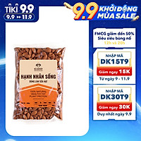 Hạt Hạnh Nhân Sống DK Harvest  Nhập Khẩu - Túi 500g, 1000g