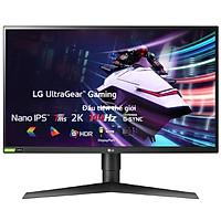 Màn Hình Gaming LG UltraGear 27GL850-B 27 inch WQHD (2560 x 1440) 1ms 144Hz Nano IPS NVIDIA G-Sync FreeSync HDR 10 - Hàng Chính Hãng