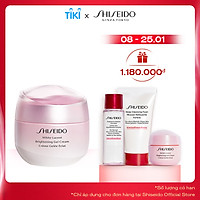 Bộ sản phẩm Gel dưỡng trắng da Shiseido White Lucent Brightening Gel Cream 50ml