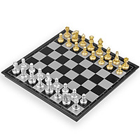 Magnetic Chess Set Foldable Felted Chess Game Board Set Portable Travel Outdoor Gift Toy