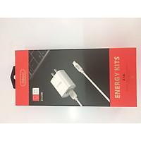 Bộ Sạc điện thoại  Recci BA17+RCL-P100, Gồm: Sạc Adapter + Cáp Sạc Lightning Cho Iphone, Ipad – Hàng Chính Hãng