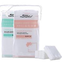 Túi Bông Tẩy Trang Lameila Chất Liệu Cotton Cao Cấp 50 Miếng - Giao Mầu Ngẫu Nhiên -MP093