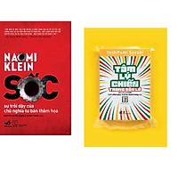 Combo 2 cuốn sách: Sốc sự trỗi dậy của chủ n ghĩa tư bản thảm họa + Tâm lý chiến trong bán lẻ