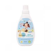 Nước giặt quần áo Organic cho bé Lamoon - Bình 750ml