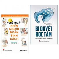 Combo thấu hiểu người đối diện : Nghệ thuật nhìn người đoán tính cách + Bí quyết đọc tâm - Tặng kèm bookmark thiết kế