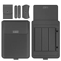 Da Pu Túi Đựng Laptop Cho Macbook Air Pro 13 15 M1 2020 Máy Tính Xách Tay Dành Cho Lenovo Huawei HP 11 12 14 17 Inch