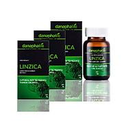 Combo 3 hộp LINZICA - Giải độc gan, hạn chế sự phát triển khối u