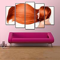 Tranh treo tường, tranh trang trí PP_ NT598 bộ 5 tấm ghép Spa