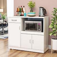 Kệ tủ bếp KB10-1 để lò nướng để lò vi sóng đồ nhà bếp nồi cơm điện loại tốt mã gỗ MDF lõi xanh chống ẩm chống nước cao cấp sản xuất tại Việt Nam