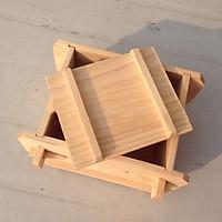 Khuôn làm đậu phụ gỗ
