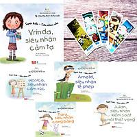 Combo 1-Kỹ năng sống dành cho học sinh-Siêu nhân nhí (Chủ đề Cảm xúc-Tặng kèm 01 bookmark cực đẹp) 5 cuốn