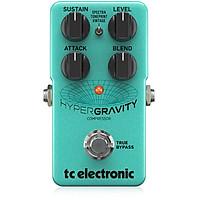 Stompboxes Guitar TC ELECTRONIC HYPERGRAVITY-COMPRESSOR -- Cục phơ ghita-Hàng Chính Hãng