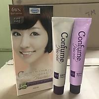 Nhuộm thảo dược phủ bạc thời trang (Hàn Quốc) Welcos confume hair color 6WN  2 x 60g