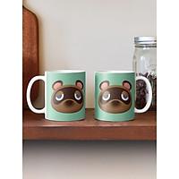 Cốc sứ uống trà  cà phê in hình gấu con ngộ nghĩnh đáng yêu - Cốc quà tặng