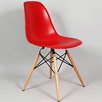 Ghế Eames nhựa chân gỗ J01