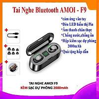 Tai Nghe Bluetooth True Wireless Amoi F9 Bản Quốc Tế | cảm ứng 1 chạm | Kháng Nước IPX 7