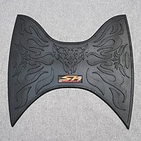 Thảm lót chân bằng cao su cao cấp dành cho xe máy sh 2012 - 13 mẫu mới