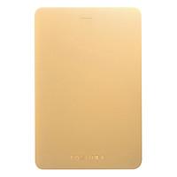 Ổ Cứng Di Động Toshiba Canvio Alumy Portable Hard Drive 2TB - Hàng Chính Hãng