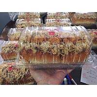 Hộp nhựa H143 - Hộp nhựa đựng bánh mì hoa cúc - hộp đựng bánh bông lan tan chảy