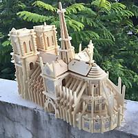 Đồ chơi lắp ráp gỗ 3D Mô hình Nhà Thờ Đức Bà G-P151