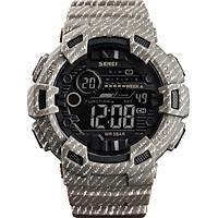 SKMEI 1472 Analog Digital Watch Luminous Outdoor Sport Watch Men Digital Watch 5Bar Waterproof Alarm Clock Cowboy