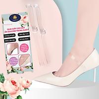 Quai giày ẩn bằng silicone trong suốt dùng mang giày cao gót phiên bản móc cài giúp ôm bàn chân - buybox - BBPK143