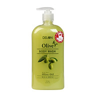 Sữa Tắm DELON dưỡng ẩm với chiết xuất tinh dầu Olive 725ml - Body Wash Olive DELON 725ml