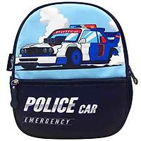 Ba Lô Mẫu Giáo Toy Station-Police Car B-005 - Xanh Đen