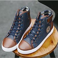 Giày thể thao nam cổ cao, giày sneaker nam cổ cao thiết kế thời thượng, trẻ trung, cá tính