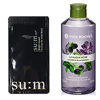 Mặt Nạ Sủi Bọt Thải Độc Sum37 Bright Award Bubble-De Mask Black Tặng kèm 1 sữa tắm yves rocher lavender 400ml