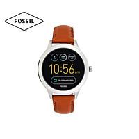 Đồng hồ nữ Gen 3 Smartwatch Venture dây da FTW6007 - màu vàng nâu