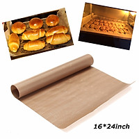 Reusable Non Stick Cooking Paper Microwave Grill Baking Mat Sheet for Housewife 16x24 inch