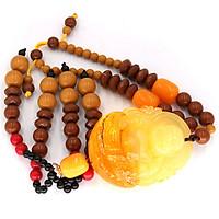 Dây treo phong thủy Phật Di Lặc bột đá