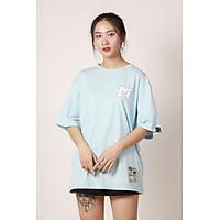 Áo phông tay lỡ form rộng Unisex Thêu Logo M Cao Cấp Local Brand Mi Midori