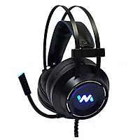 Tai nghe chụp tai WM9800 giả lập 7.1 USB (đen)