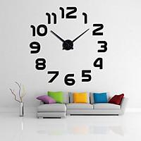 Đồng hồ trang trí treo tường 3D- gắn tường sáng tạo loại lớn DH08