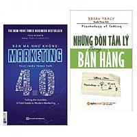 Combo sách bán hàng hay nhất: Những Đòn Tâm Lý Trong Bán Hàng + Bán Mà Như Không Marketing Thực Chiến Trong Thời 4.0 (tặng kèm bookmark PĐ Books)