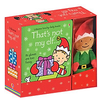 Usborne That's Not My Elf Book And Toy