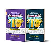Combo 2 cuốn Sổ tay kiến thức chinh phục điểm 10 dành cho học sinh lớp 12 - KHTN & KHXH